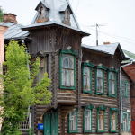 Кимры, дом в стиле модерн