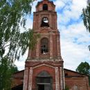 Княжево. Церковь Благовещения, колокольня