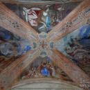 Благовещенская церковь в Княжево, фрагмент росписи храма