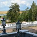 Коссово. Вид с террасы дворца Пусловских на окрестности