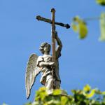 Усадьба Кусково, крест церкви