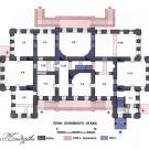 Усадьба Лопасня-Зачатьевское. План усадебного дома