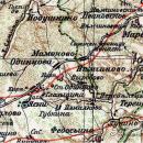 усадьба Мамоново Гусева полоса на карте 1909 г.