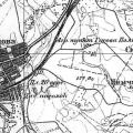 Усадьба Гусева полоса Мамоново на карте 1930 г.