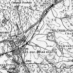 Усадьба Гусева полоса Мамоново на карте 1931 г.