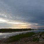 Первый Северный форт, вид с берега на Финский залив