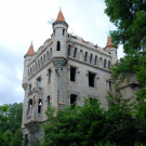 Замок в усадьбе Муромцево