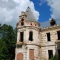Замок в усадьбе Муромцево Храповицких