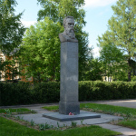 Памятник композитору Римскому-Корсакову в Тихвине