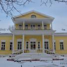 Усадьба Фряново, главный дом со стороны парка