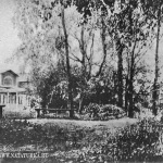 Усадьба Шахматово, главный дом. Рисунок