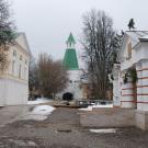 Николо-Пешношский монастырь, Спасская башня