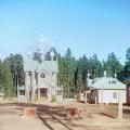 Успенская церковь Гефсиманского скита Ниловой пустыни. Фото С.М. Прокудин-Горский