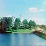 Озеро Селигер. Фото С.М. Прокудин-Горский