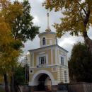Осташков, монастырь Нилова пустынь, Светлицкая башня (1863 г.)