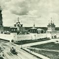 Новодевичий монастырь, старое фото