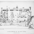 Новодевичий монастырь, план 1886 г.