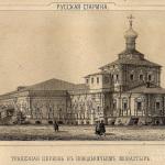 Новодевичий монастырь, трапезная церковь