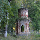 Усадьба Осташево башня парадного двора