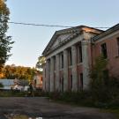Усадьба Осташево административное здание на месте усадебного дома