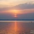 Осташков озеро Селигер, закат