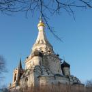 Остров Преображенский храм