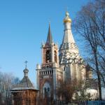 Усадьба Остров Преображенская церковь