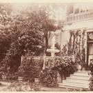Фермерский дворец, лестница в сад