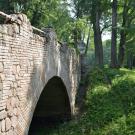 Петергоф, парк Александрия. Руинный мост