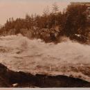 Водопад Иматра (из из фотоальбома Николаи имение Монрепо)