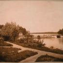 Мост и плотина в дачной местности Пикрукки (из фотоальбома Николаи имение Монрепо)