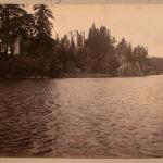 Парк Монрепо, вид на капеллу Людвигсбург
