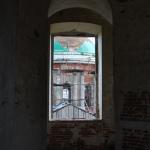 Перевлес Рождественская церковь, внутри колокольни