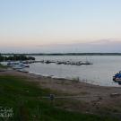 Яхт-клуб недалеко от Перынского скита