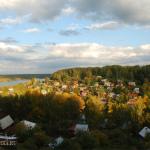 Плес Ивановская область, панорама города