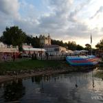 Плес Ивановская область, пристань на Волге