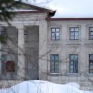 Усадьба Никольское-Обольяниново, главный дом (фрагмент фасада)