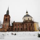 Церковь Николая Чудотворца в усадьбе Никольское-Обольяниново