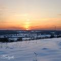 Усадьба Никольское-Обольяниново, закат