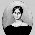 Портрет А. П. Керн. Неизвестный художник, 1820 г.