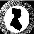 Анна Керн. Силуэт, 1825 г.