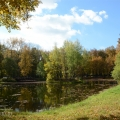 Усадьба Покровское-Рубцово, пруд в парке