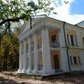 Усадьба Покровское-Рубцово, главный дом, портик с торца.