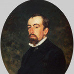 В.Д. Поленов (И.Е. Репин, 1877)