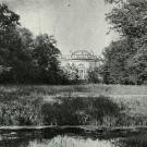 Александровский дворец, парковый фасад