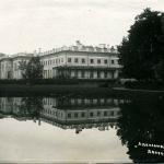 Александровский дворец, вид от Кухонного пруда