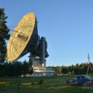 Антенна Калязинской радиоастрономической обсерватории