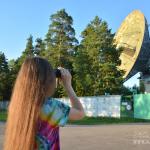 Радиотелескоп РТ-64 в Калязине