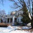 Усадьба булочника Филиппова Роднево, главный дом, парковый фасад