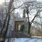 Усадьба Филиппова Роднево, терраса со стороны парка